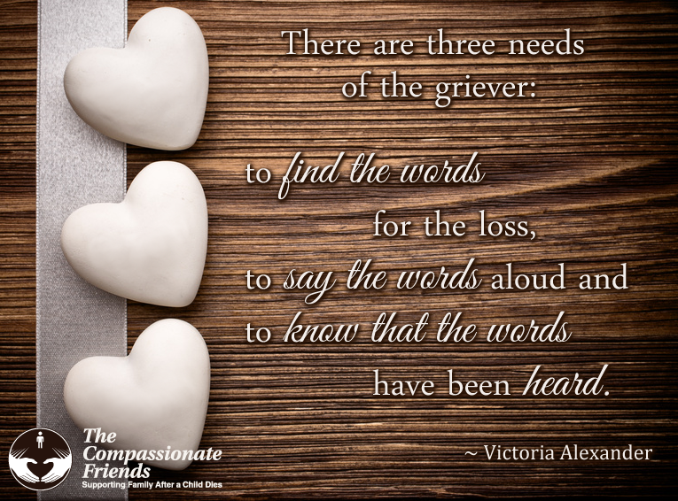 There are three needs