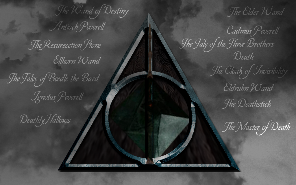 Harry Potter Images With Deathly Hallows Symbol Deathly Hallows
