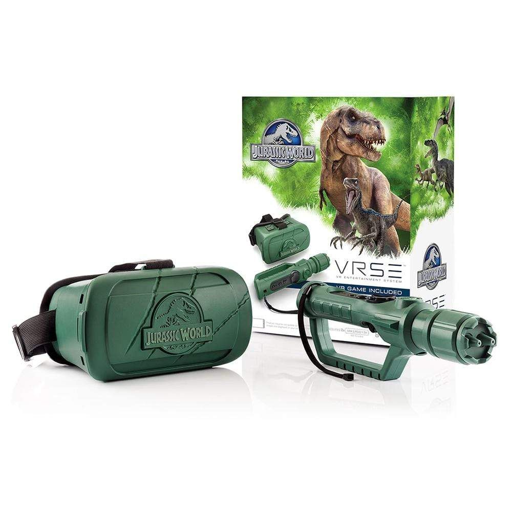 Jurassic World VR VRSE Virtual Reality Gaming System