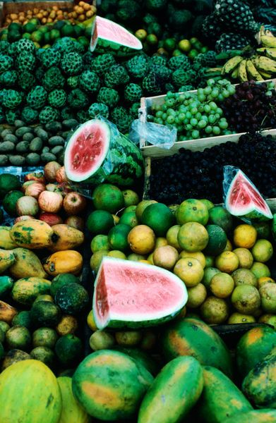 Fresh fruit from the Ipanema market, Rio de Janeiro, Brazil.  Photo: Lonely Planet Images, John Maier Jr