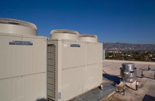 Hotel Wilshire with Mitsubishi variable refrigerant flow