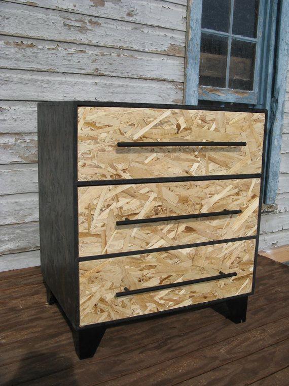 Stained Osb Furniture Zen Monk Modular Osb Dresser By Modosb Fancy Furniture Pinterest