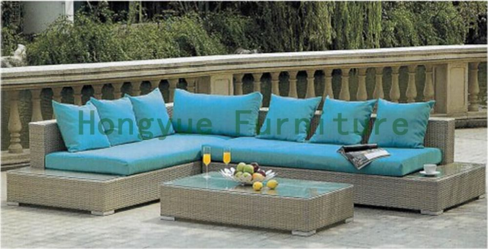 New Wicker Outdoor Sofa Set With