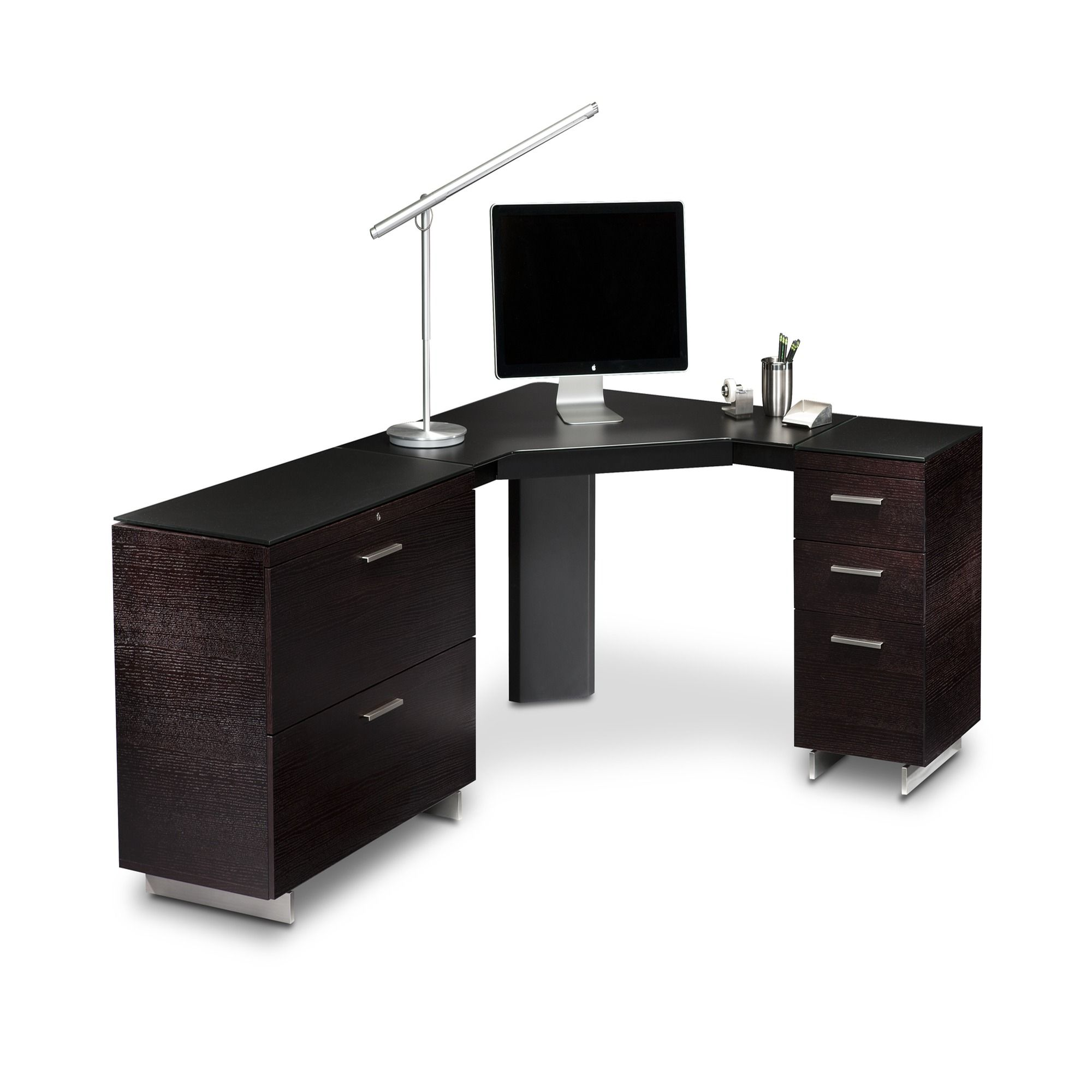 The Peninsula Desk 6018 Is Part Of BDIu0027s Sequel Office Furniture Collection.  The Desk 6018 Integrates With Other Pieces Of The Sequel Collection.
