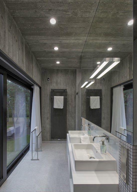 Casas Minimalistas y Modernas Casa Moderna de Hormigon y Madera