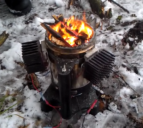 Thermoelectric generator stove - Thermoelectric Generator Stove Thermoelectric Pinterest