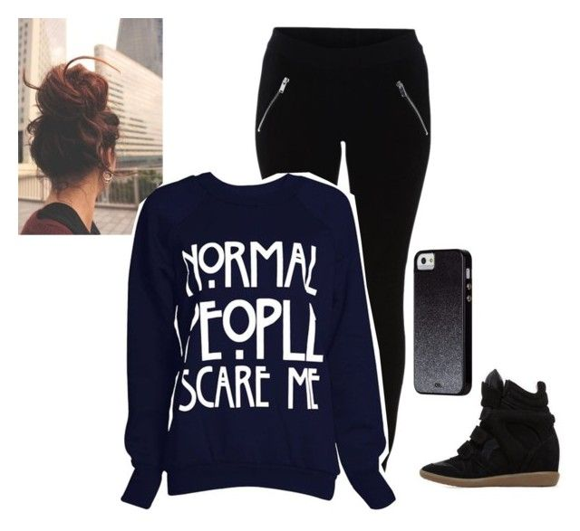 """""""Untitled #245"""" by info-778 ❤ liked on Polyvore featuring VILA, Isabel Marant and Case-Mate"""