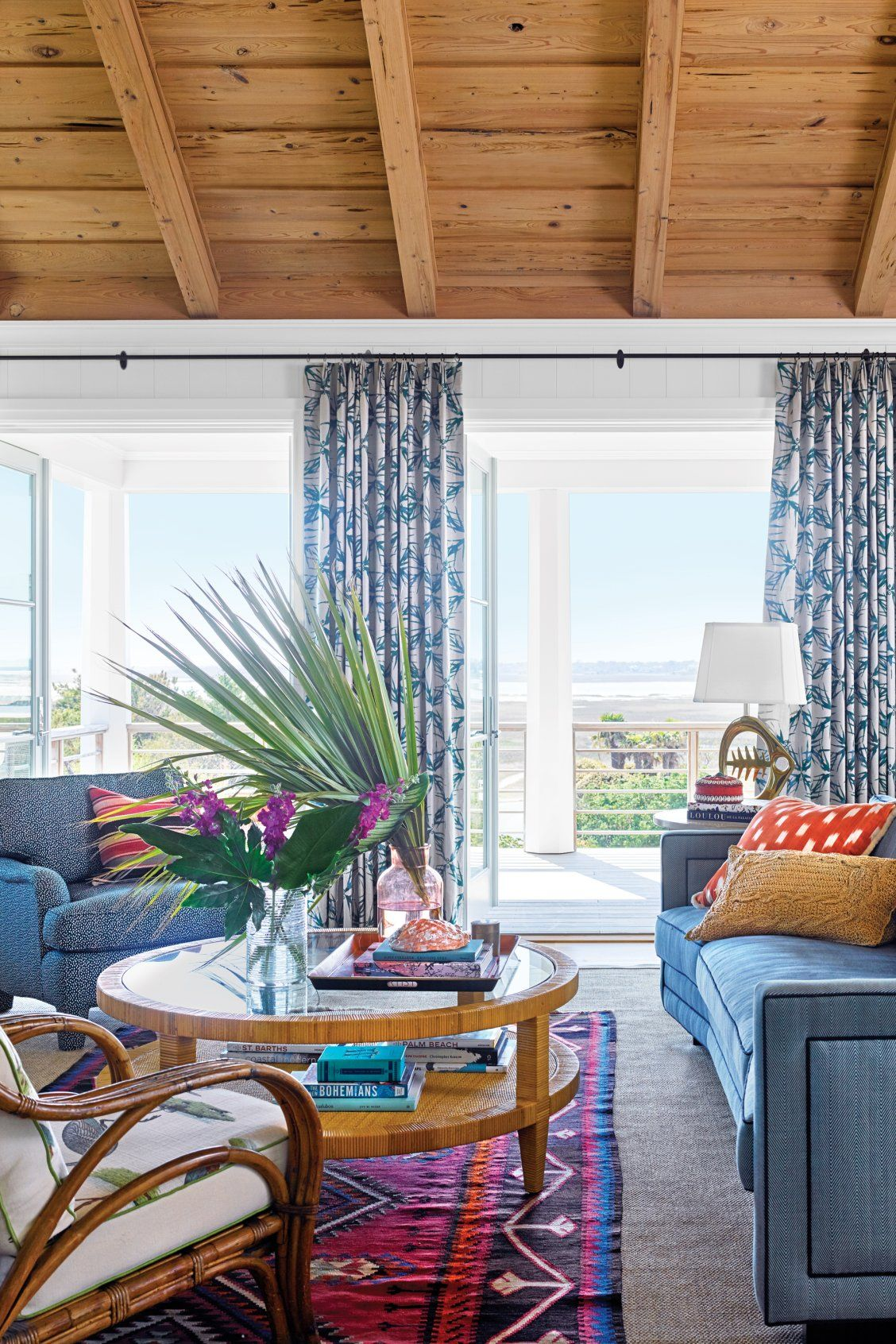 This Colorful Carolina Beach Cottage Is The Perfect Mix Of Classic