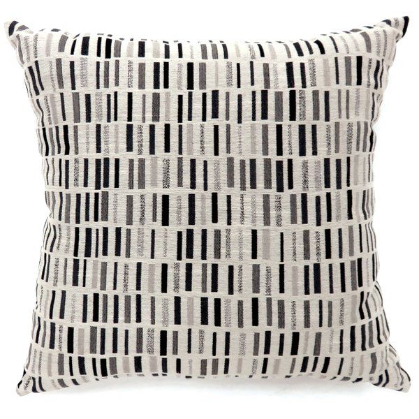 Revis Tile Print Throw Pillow Contemporary Pillows Throw Pillows Contemporary Throw Pillows