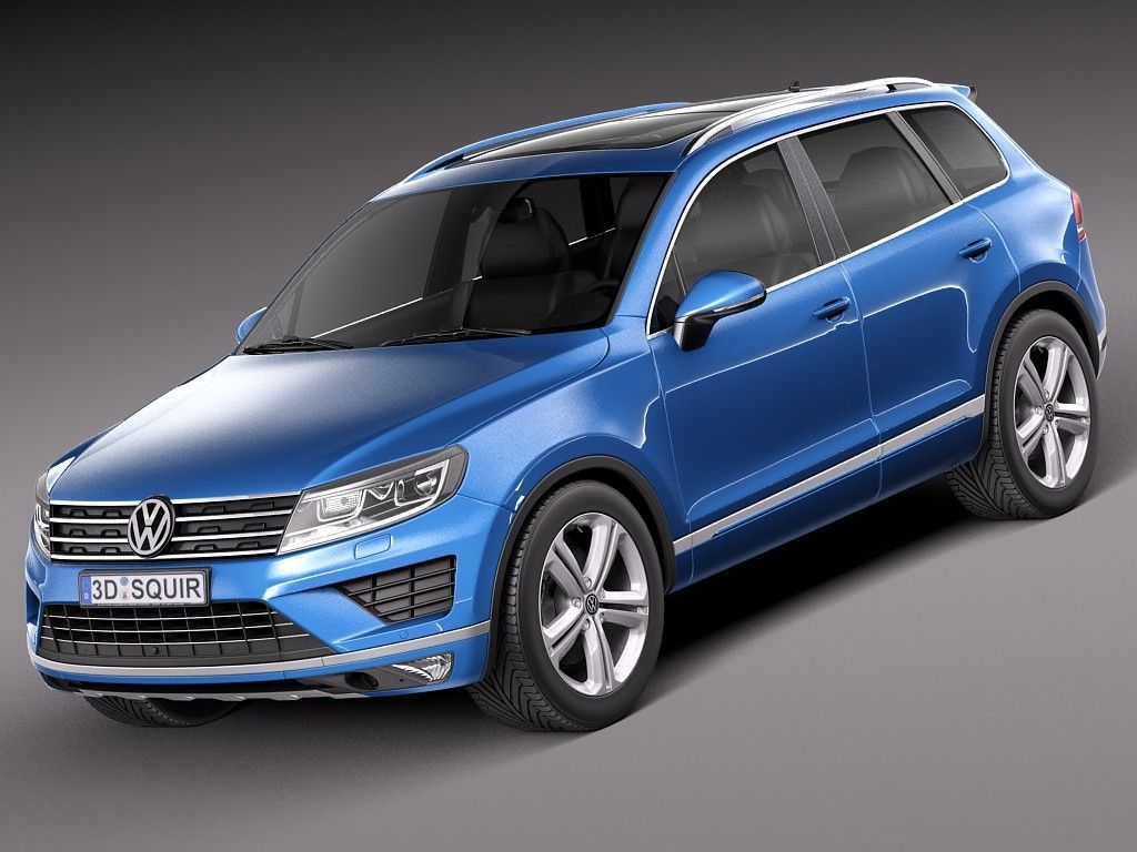 Release 2015 Volkswagen Touareg Review Side View Model