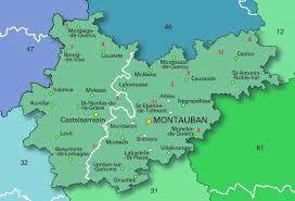 Tarn-et-Garonne Map - Google Search