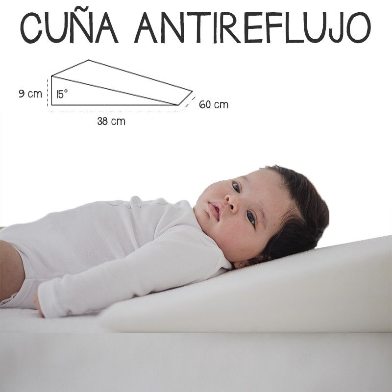 Cuña Antireflujo Bebe Almohada Inclinada Cuña Para Cuna Mimuselina Almohadas Para Embarazadas Colchon Antireflujo Bebe Almohada De Maternidad