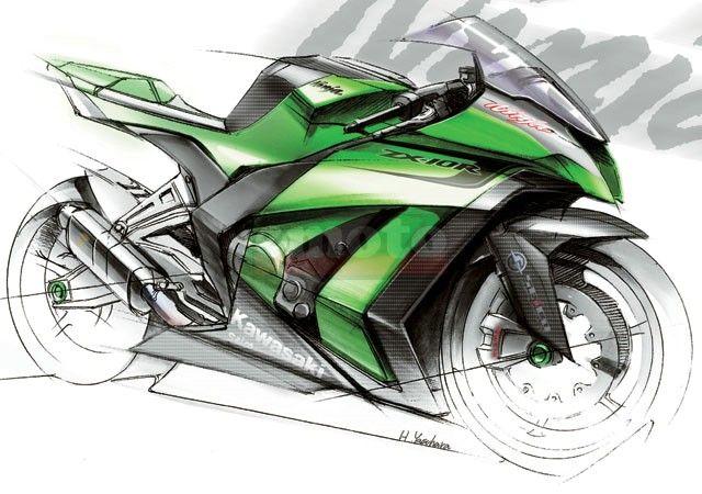 Kawasaki Ninja Us Kawasaki Ninja Bike Drawing