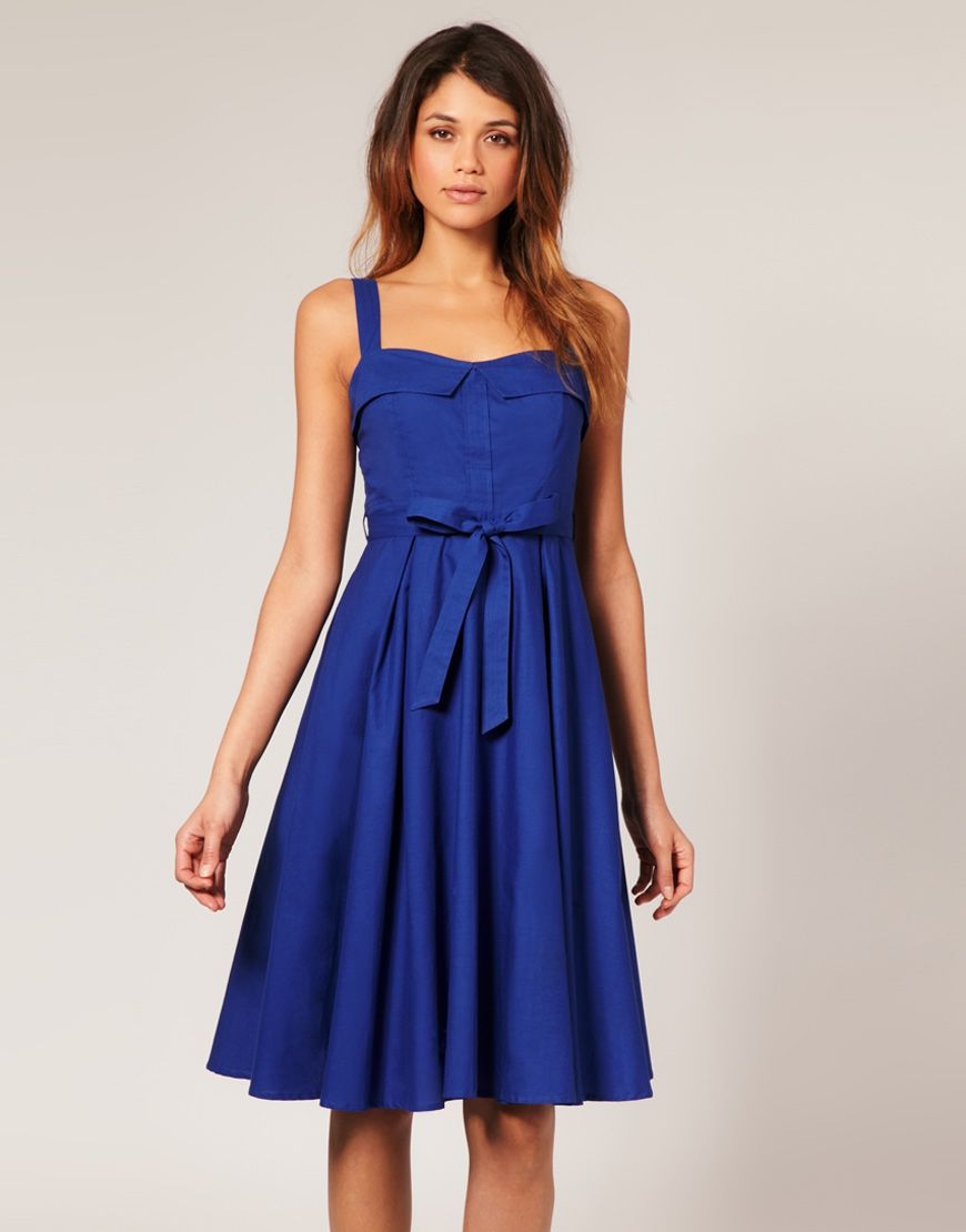 Collection Blue Summer Dress Pictures - Reikian