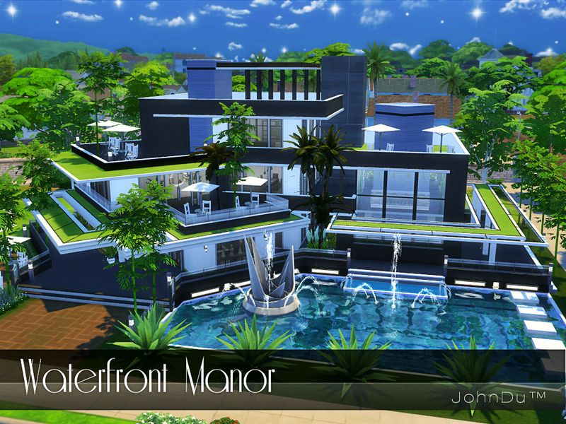 The Name Of This Mansion Is Waterfront Manor Found In Tsr