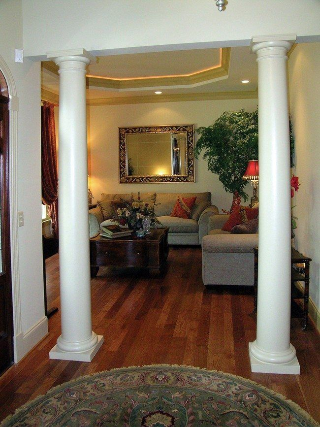 Photo of How to Use Living Room Columns to Create Rich Details – Decor Around The World