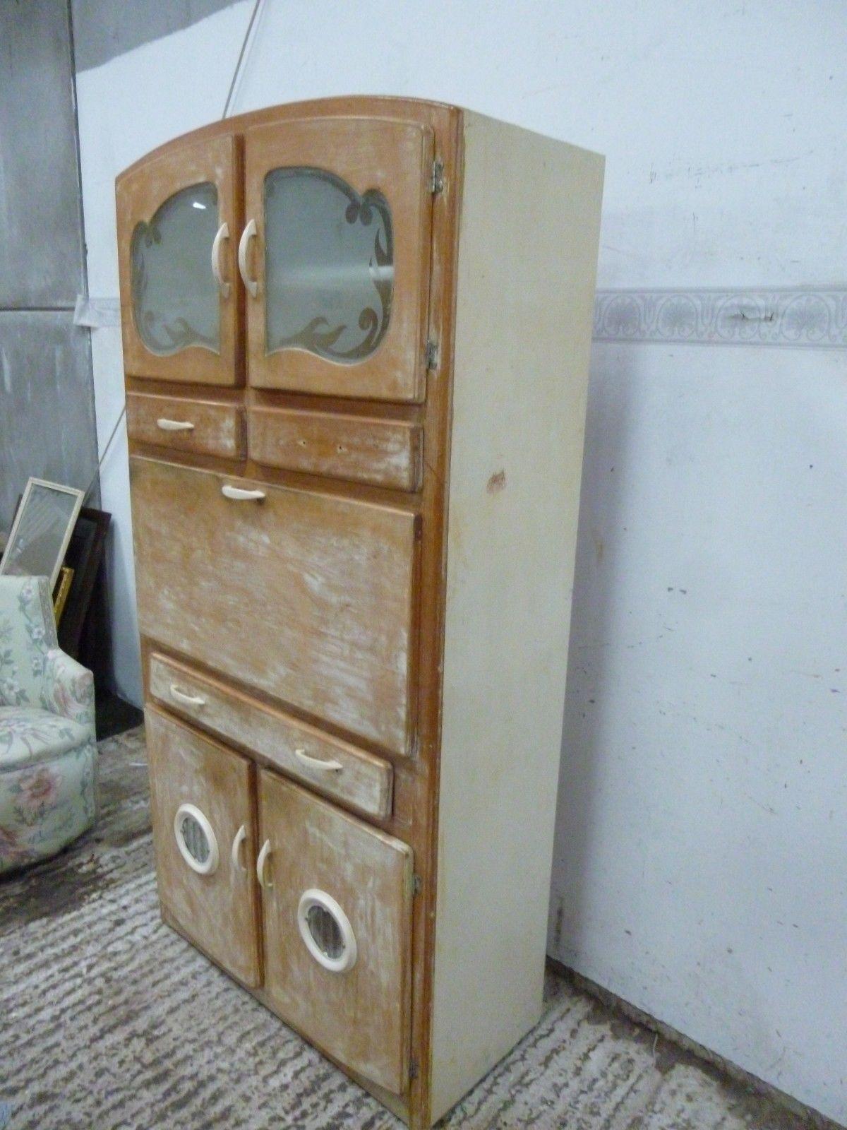 Vintage Retro 50 S 60 S Kitchenette Larder Unit Meat Safe Cabinet Ebay Larder Unit Vintage Kitchen Cabinets Retro Vintage