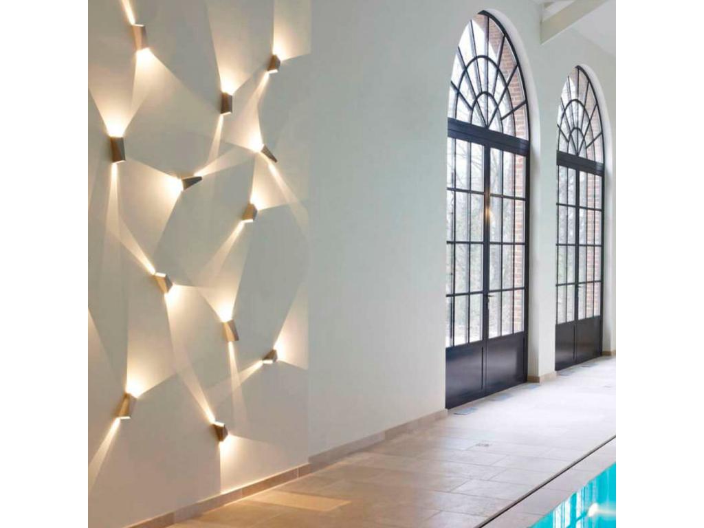 Utopix applique fixture led by karma lighting design