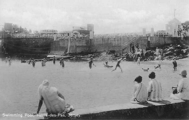 Channel Islands Jersey Havre Des Pas Swimming Pool 1900 S Channel Islands Island British Isles