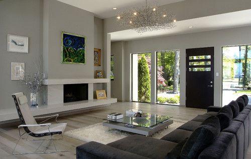contemporary living room by Visbeen Associates, Inc.
