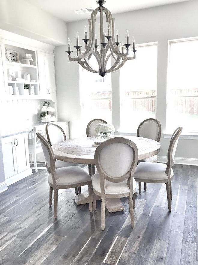 Kitchen Dream Color Palette Farmhouse Wood Floors And Furniture Love The Breakfast Nook Off But Would Prefer To Have More Space