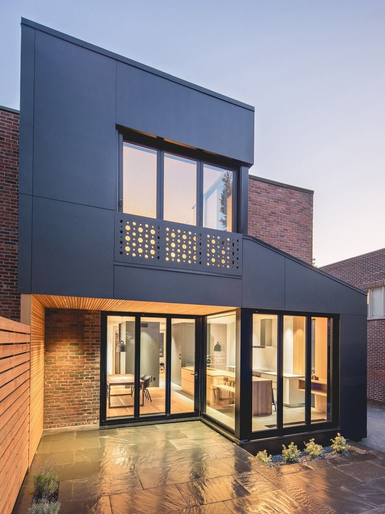 Gallery Of Black Box Ii Natalie Dionne Architecture 16 Architecture House Luxury House Designs House Extension Design