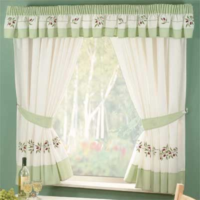 Green Kitchen Curtains To Make Your Cooking Are More Cozy And Comfortable Kitchen Curtains Curtains Green Kitchen Curtains