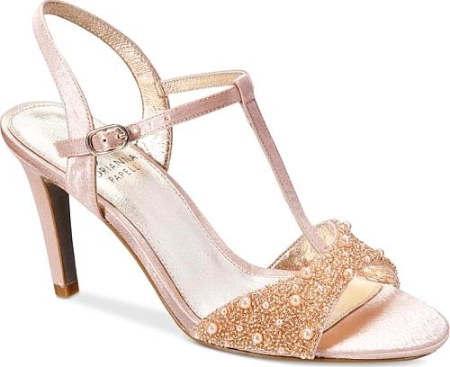 Evening sandals, Blush shoes