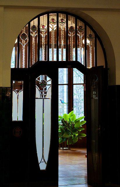Art Nouveau. Schiffer Villa, 1910 Art nouveau, Building