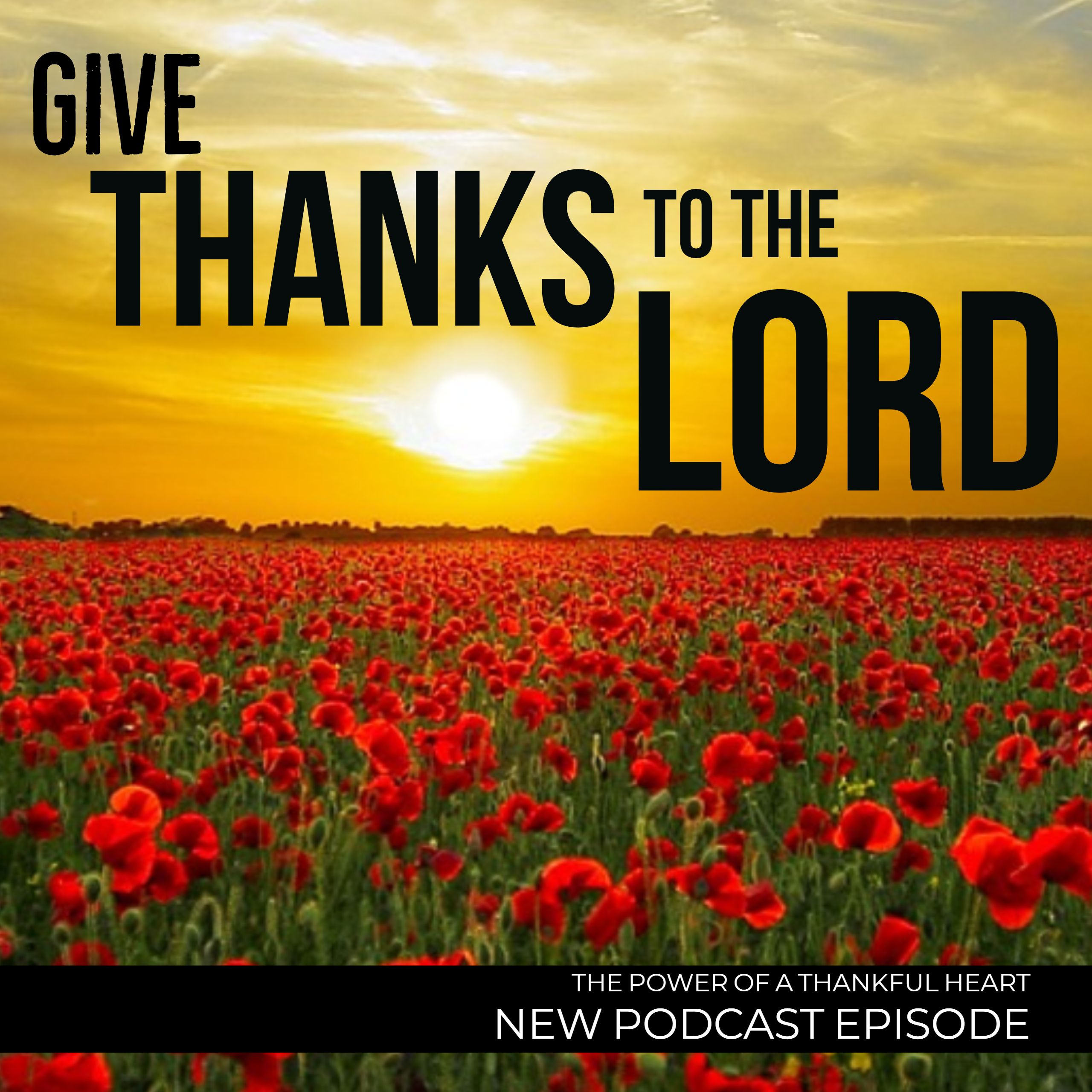 Give Thanks To The Lord Check Out Episode 15 Of The
