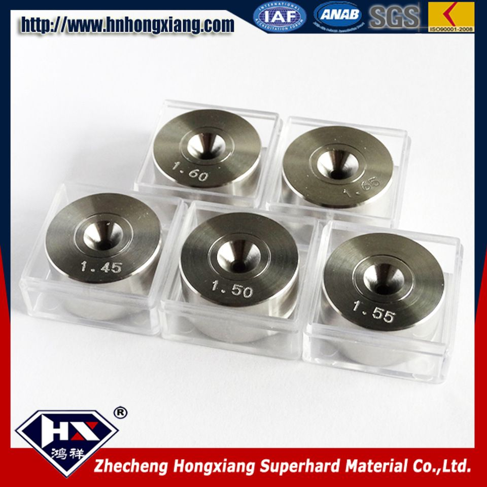 top quality PCD wire drawing dies for anodized aluminum wire ...