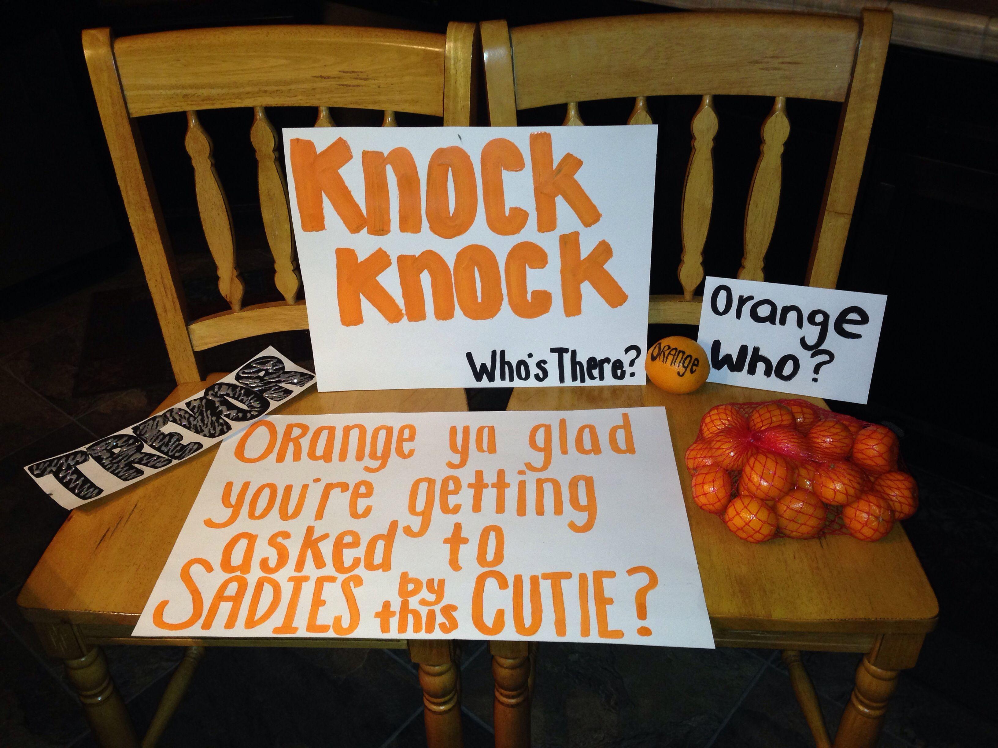 Cute ideas to ask a boy to sadie hawkins - Sadie S Idea