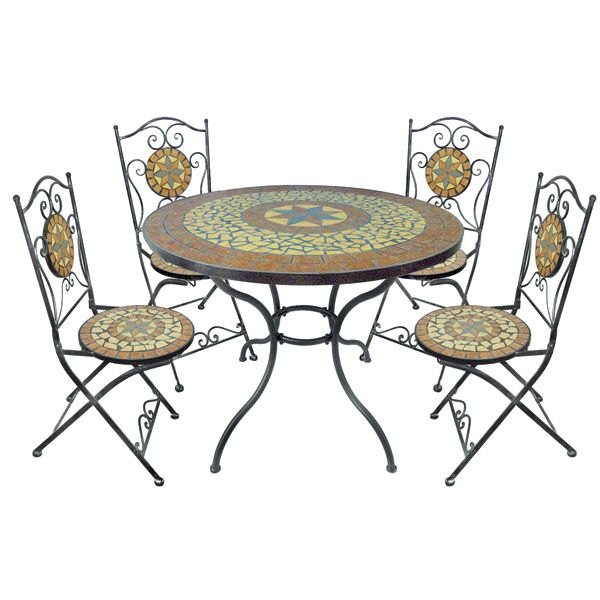 Ideal For Outdoor Dining This Summer This Table And Chair Set Is
