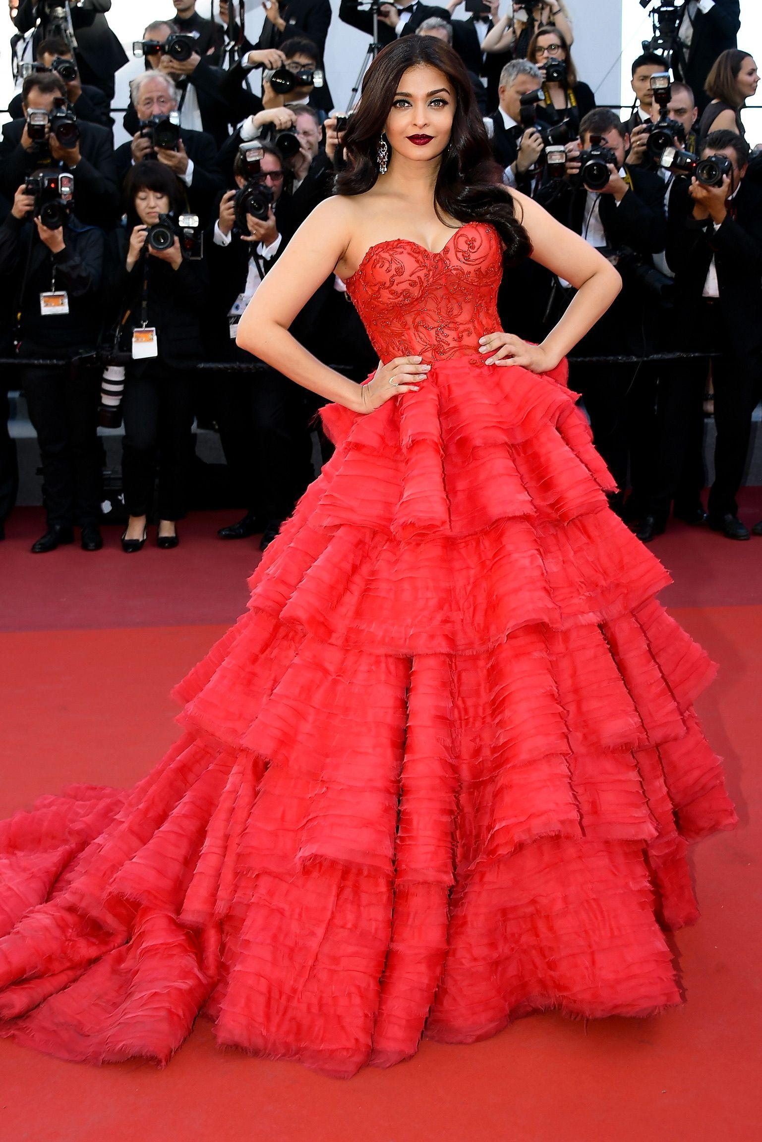 Aishwarya Rai Bachchan Wears Ralph Russo Couture Trendy Dresses Dresses Red Carpet Dresses