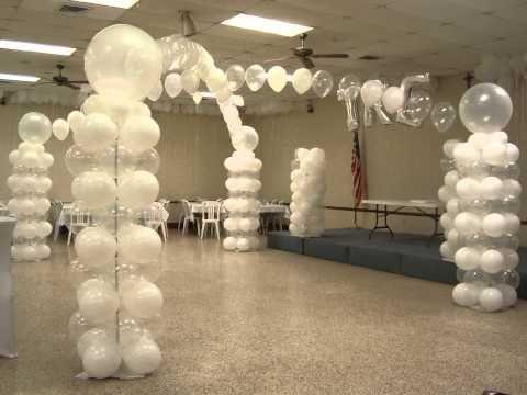 All White Decor all white balloon decor | my balloon decor | pinterest | decor