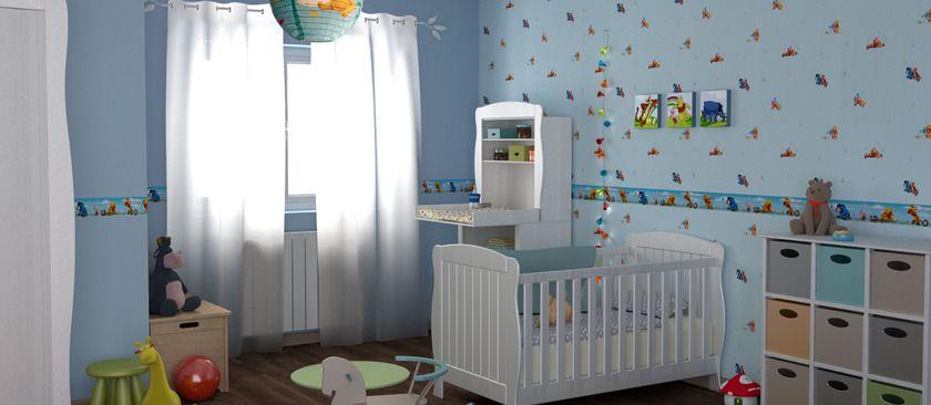 chambre de bébé thème Winnie l\'ourson   chambre   Pinterest ...
