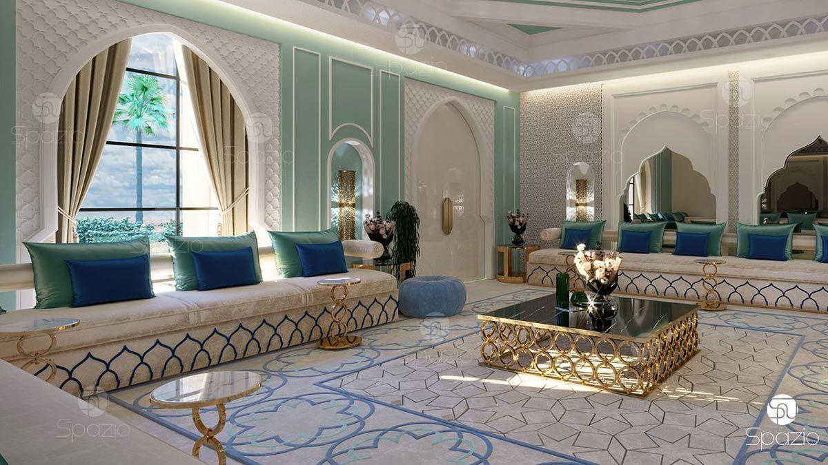 Arabic Women Majlis Moroccan Style Interior Luxury House Interior Design Classic Interior Design