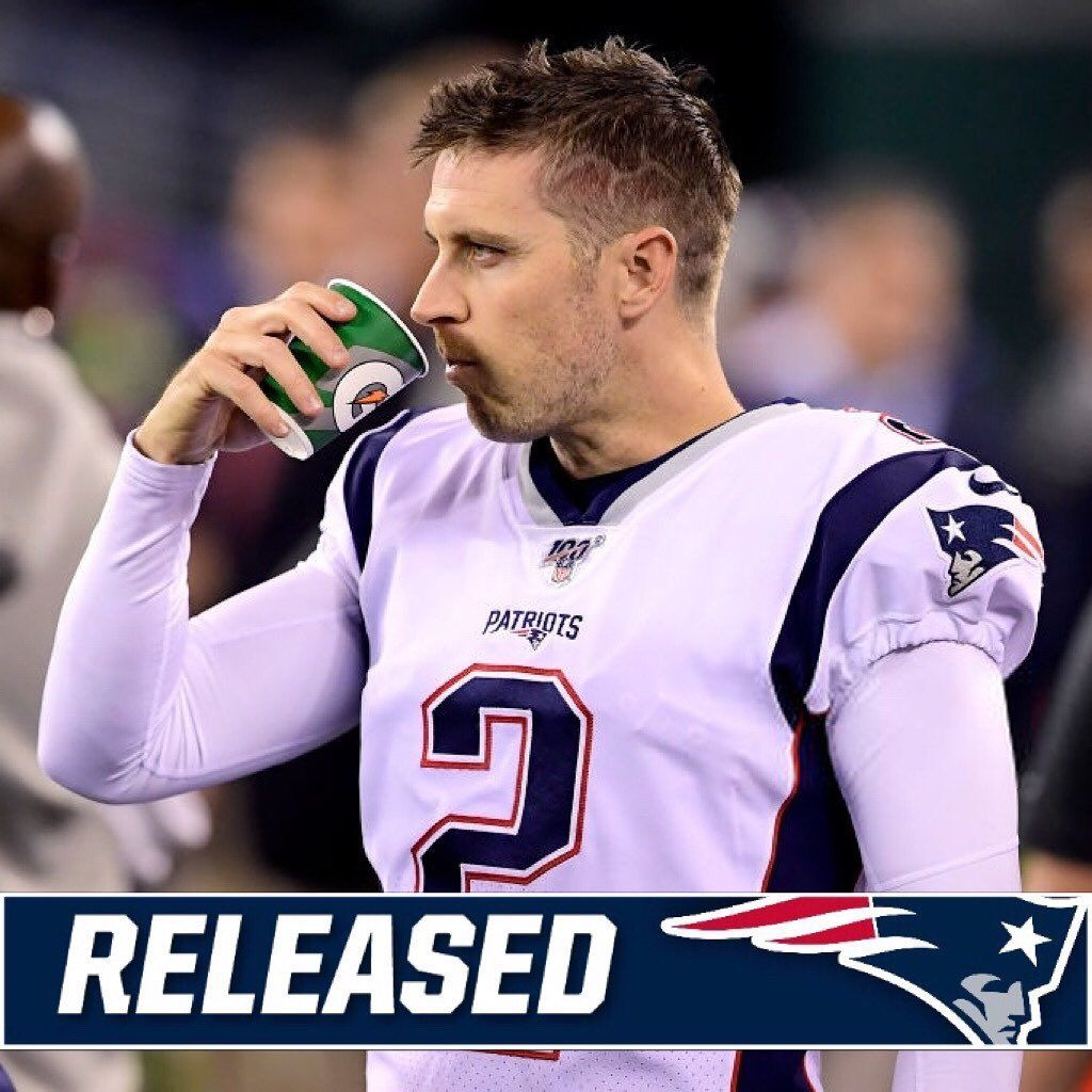 Released According To Albert Breer The Patriots Have Released Kicker Mike Nugent Mike Nugent Patriots Kicker