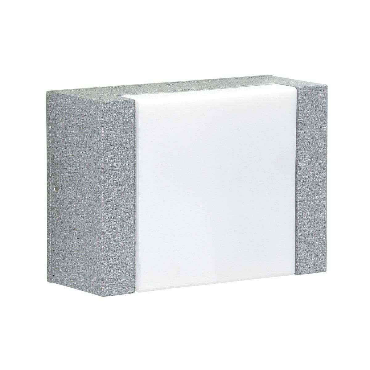 Albert 0331 LED Außenwandleuchte, Silber Led