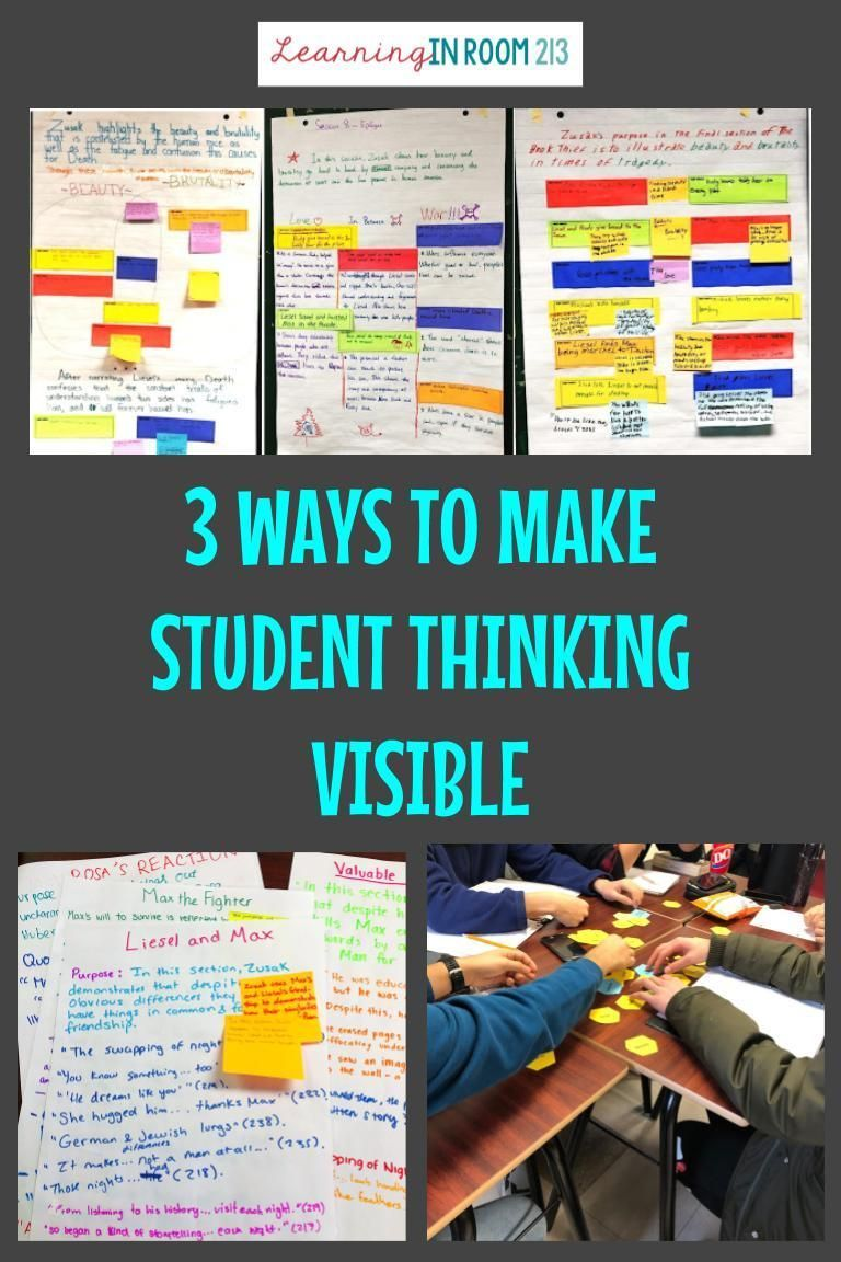 3 ways to make student thinking visible student