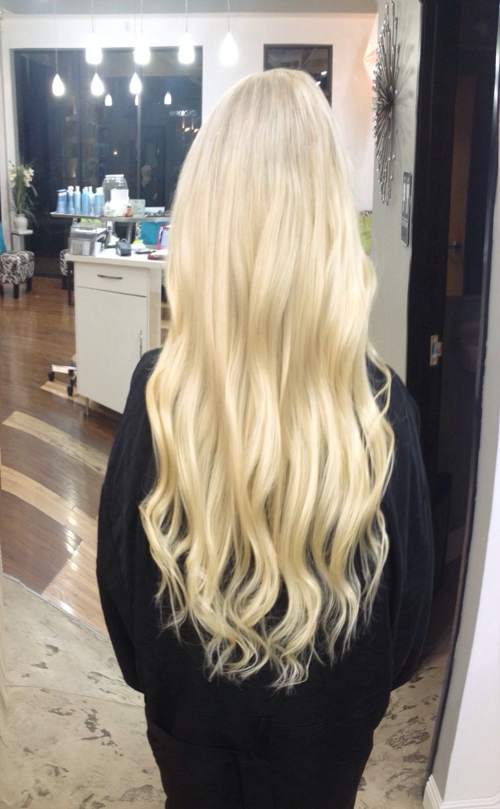 "Andrea Prchal stylist at Primo Hair Salon in Scottsdale Arizona. Follow me on Instagram: andreaprchalhairaz or like me on facebook: "" Andrea Prchal Hair Design blonde hair highlights extensions long hair curls"