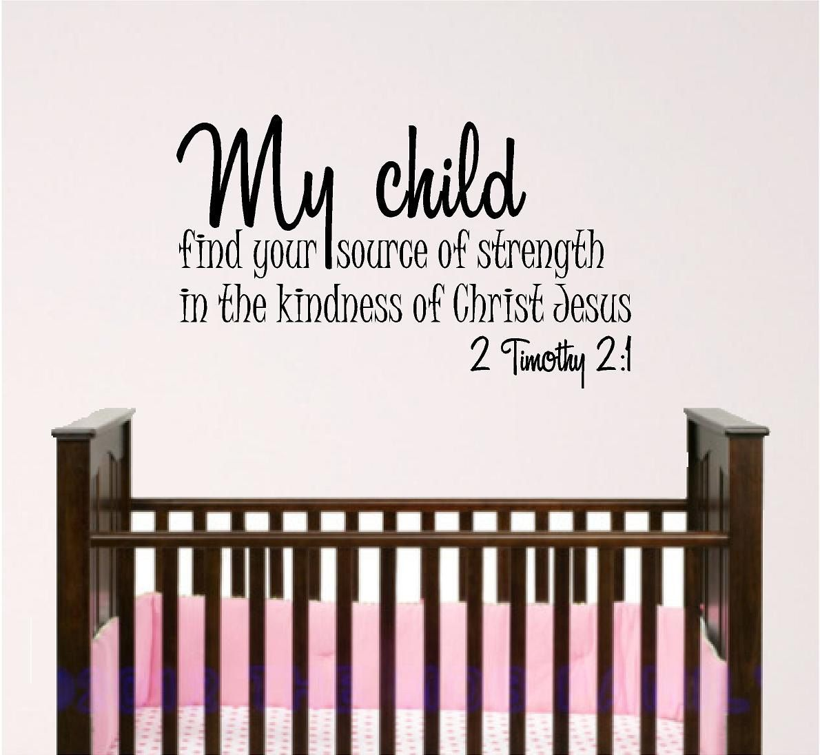 e229eaf22 Nursery Bible Verse Wall Art