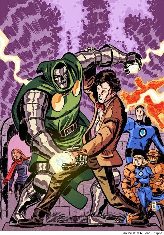Image result for Doctor Who Fantastic Four