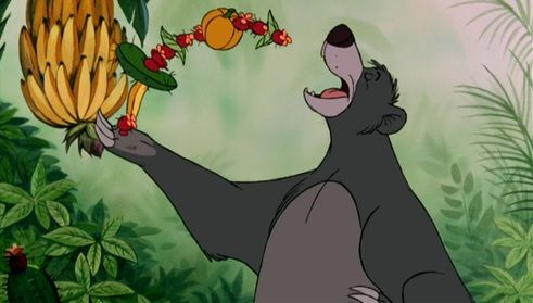 Baloo Le Livre De La Jungle Disney Le Livre De La