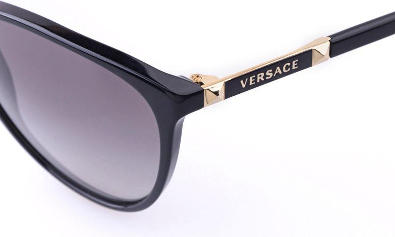 32fbe37adb87 Need these - Versace VE4260 Acetate Womens Cat eye Full Rim Sunglasses for  Fashion