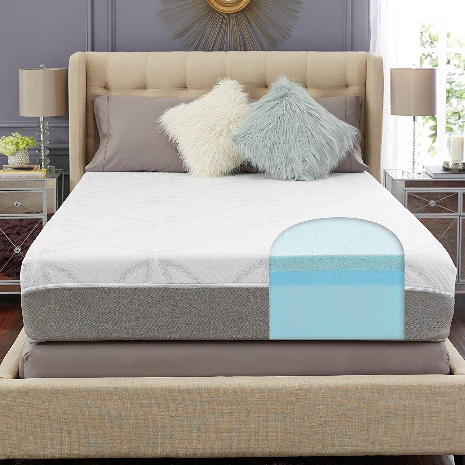 30 Breathtaking Mattress Firm Queen Bed Frame Ideas Amazon Trupedic 12 Inch Queen Gel Memory Foam Mattres Queen Bed Frame Adjustable Bed Frame Foam Mattress
