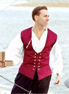 787cdf6a1d00 Sailor s Vest  Renaissance Costumes