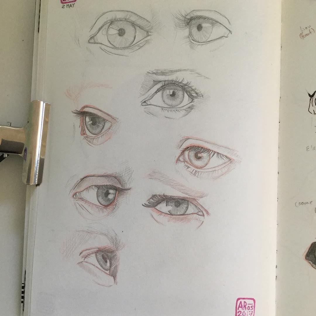 Eyes study full page eyestudy eyes sketch sketchbook pencil pencilsketch graphite drawing drawingstudy