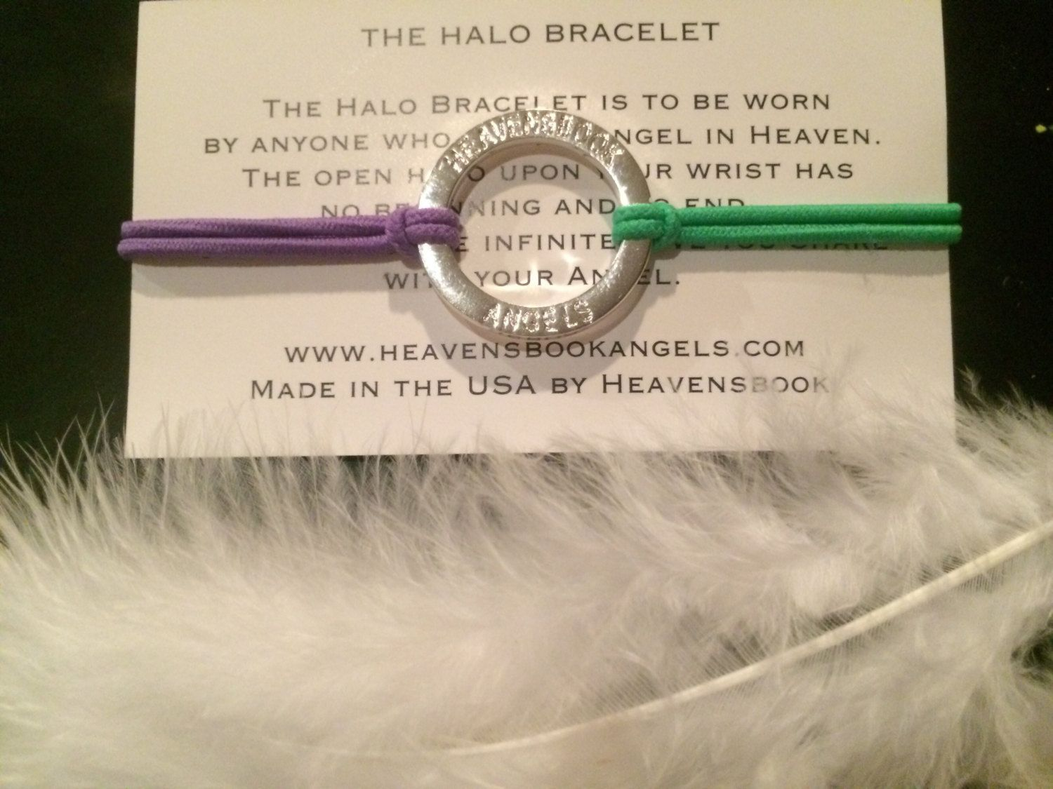 The National Grief Awareness Halo Butterfly By Heavensbook