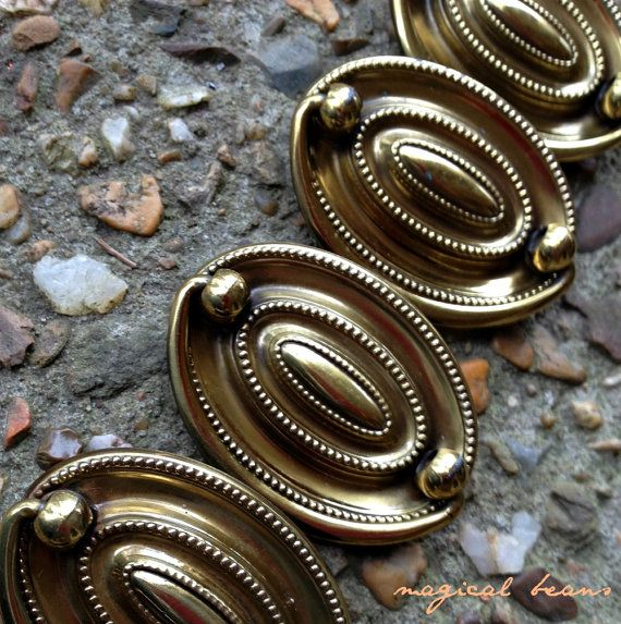 Hepplewhite Drawer Pulls Antiqued Brass Drawer Pulls Oval Dresser